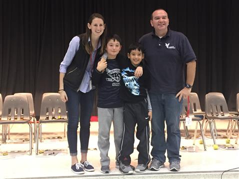 Great Job! Liberty is proud of our Geo Bee Winner!