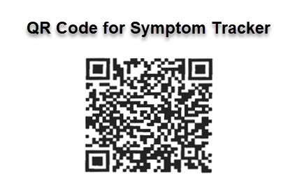 Scan to Complete Symptom Tracker