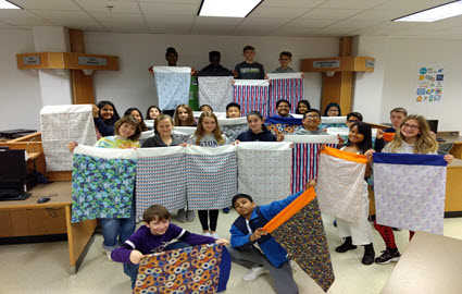 FACS Students Create and Donate Pillowcases