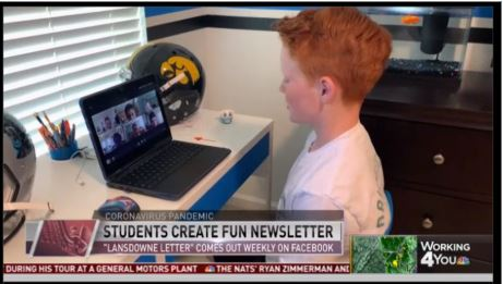 5th Grade Students Create Fun Newsletter