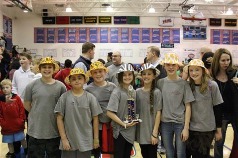 Odyssey of the Mind Regional Champs!