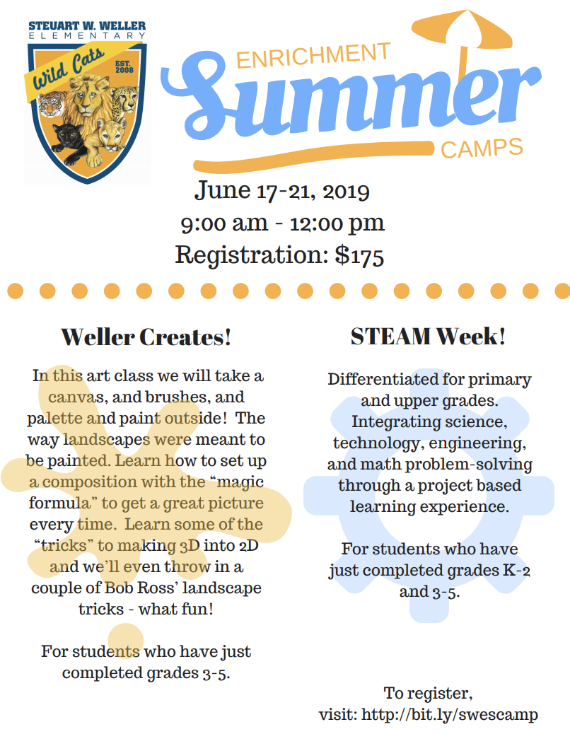 Summer Enrichment Camp at SWES