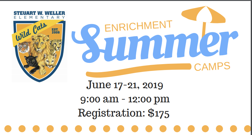 SWES Summer Enrichment Camps-Register Today!