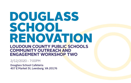 Douglass School Renovation Flyer