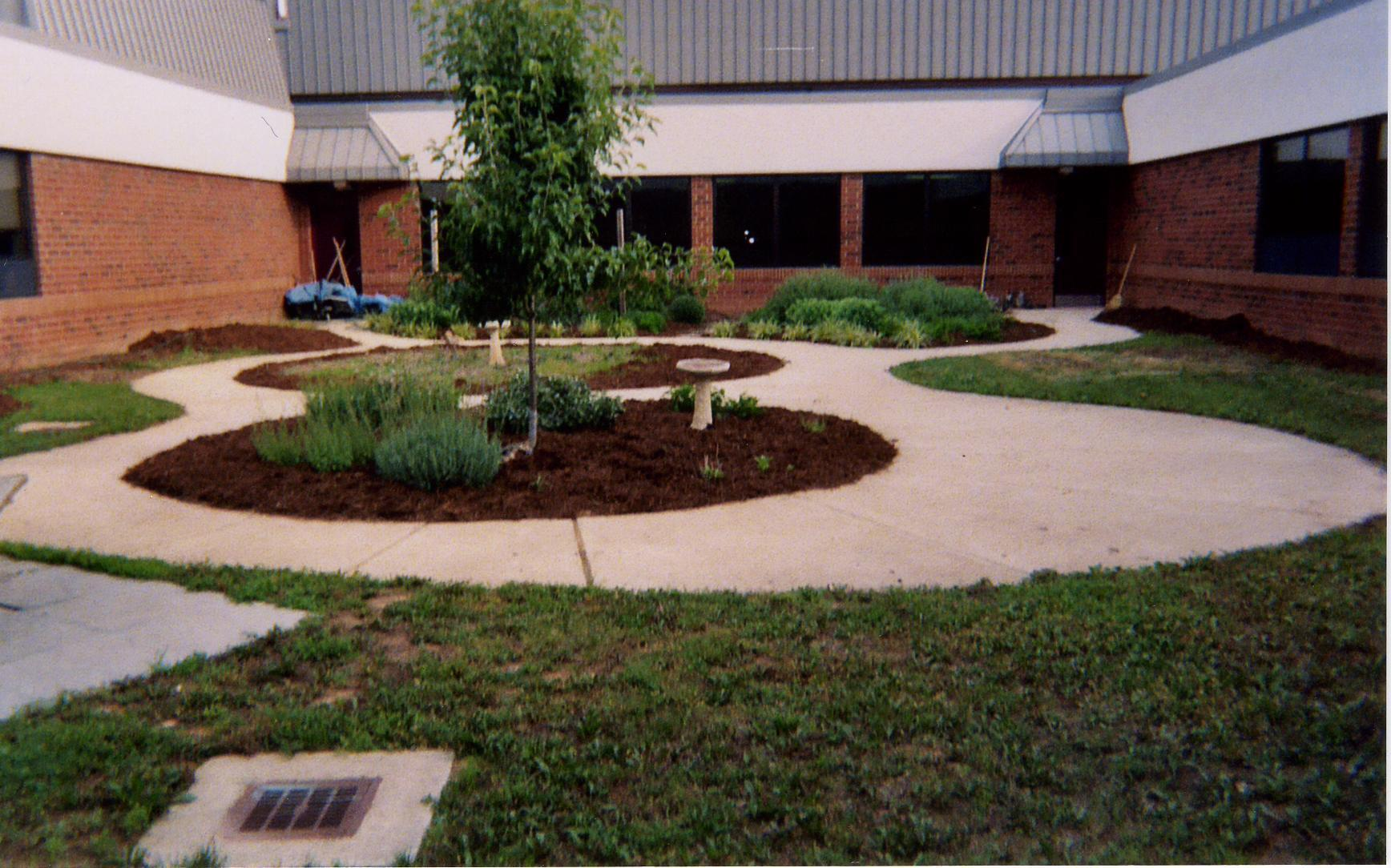 Courtyard in May