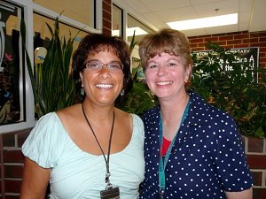 Mrs. Papazian and Mrs. White