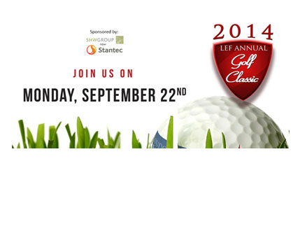 A limited number of slots and sponsorships are open for the 2014 Loudoun Education Foundation (LEF)