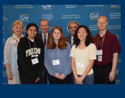 LCPS Students Examine STEM Careers at GW