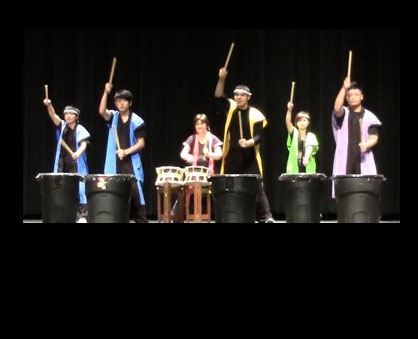 A free concert featuring traditional Japanese drumming, songs and dances will be held at 7 p.m. Thu