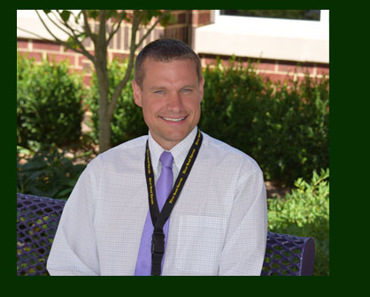 David Shaffer, the new principal of River Bend Middle School loves everything about middle-schooler