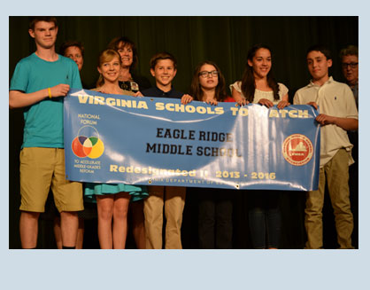Much has changed since Eagle Ridge Middle School was first designated a School to Watch in 2007.