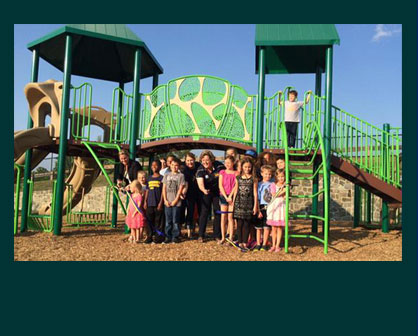 Frederick Douglass Dedicates Playground