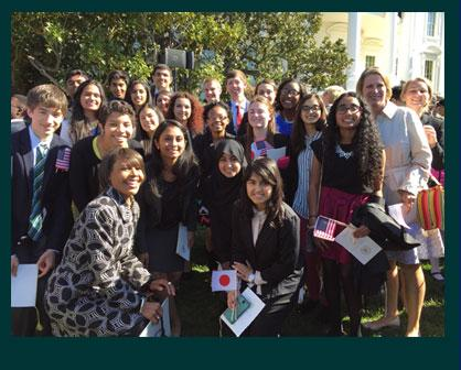 LCPS Students Take Part in White House Ceremony