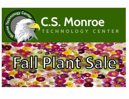 Monroe Technology Center's Fall Plant Sale will be held from Wednesday, September 17th, until Frida