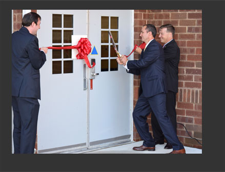 An 11,847-square-foot addition to Mercer Middle School was informally dedicated on August 27th with