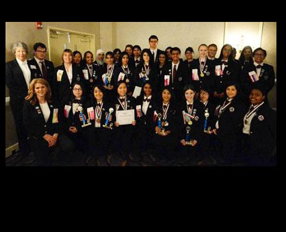 Monroe Goes To HOSA State Leadership Conference