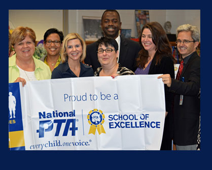 The Mountain View Elementary PTA received two prestigious honors on Thursday, September 11th.
