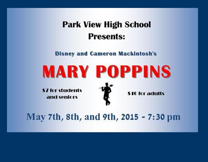 'Mary Poppins' at Park View