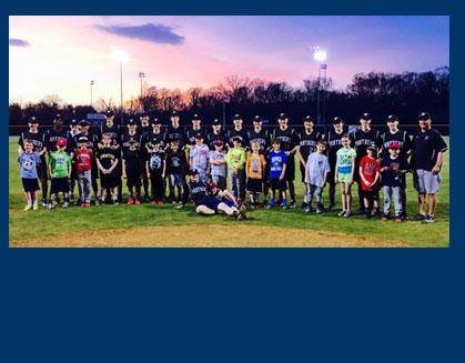 Little Leaguers Learn Panther Way in Baseball Clinic