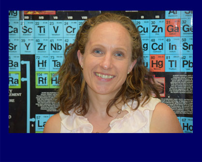 The Virginia Middle School Association (VMSA) has selected Bridget Raburn, a science teacher at Bel