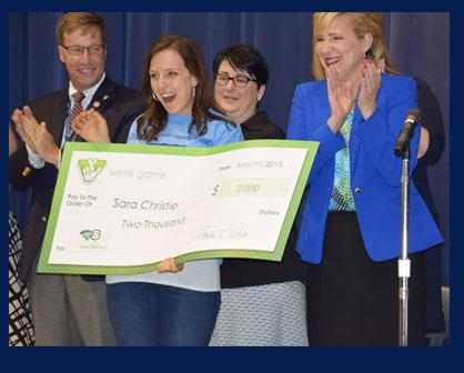 Creighton's Corner Teacher Wins the Lottery (Award)