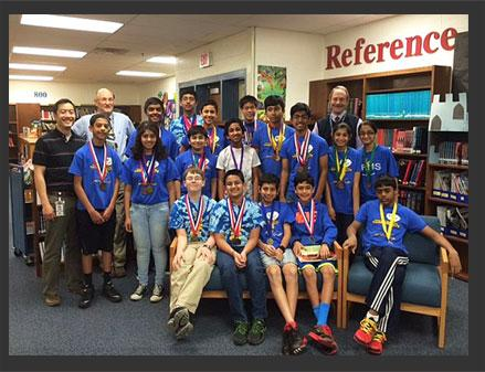 Seneca Ridge Scores High in Science Olympiad