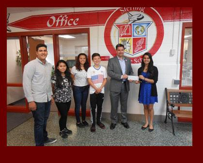 Sterling Middle School AVID Collects Money for Nepal