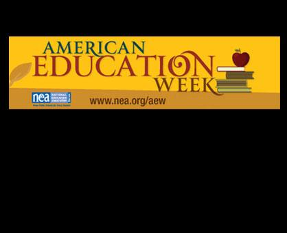 The 93rd annual American Education Week (November 17th – 21st) presents all Americans with an oppor