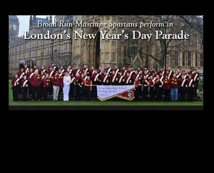 Broad Run Band Performs in London