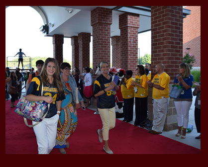 More than 600 new licensed Loudoun County Public Schools (LCPS) employees walked the red carpet int