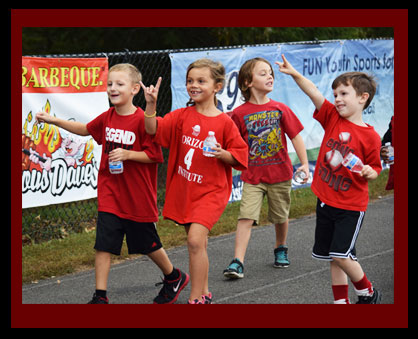 Potowmack's Elementary held its inaugural walk-a-thon on October 3rd.