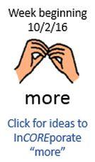 """More"" picture communication symbol. Click for Ideas."