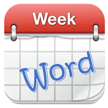 Word of Week icon