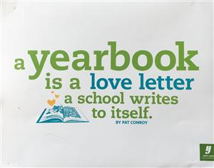 a yearbook is a love letter a school writes to itself