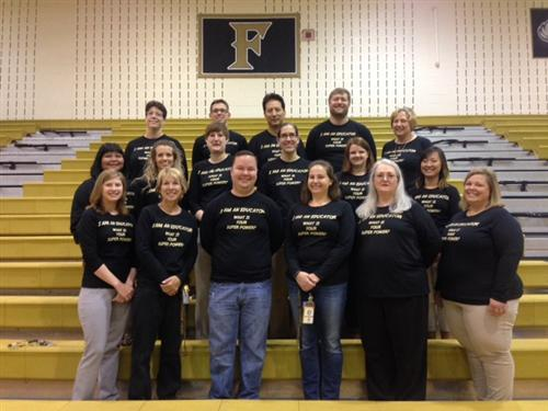 Science Department 2015-2016