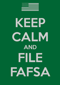 keep calm fafsa