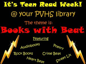 Books with Beat @ your PVHS library