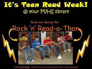 11th Annual PVHS Library Rock 'n' Read-a-Thon