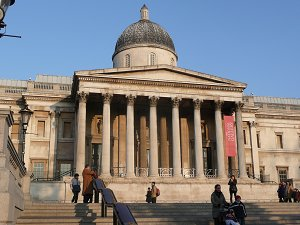 National Gallery at Trafalgar's Square