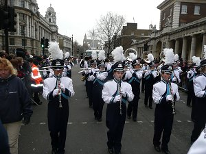 Parade through London