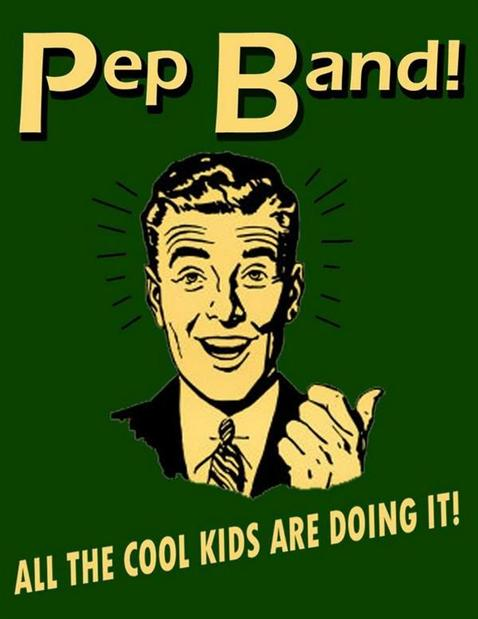 click here for Pep Band