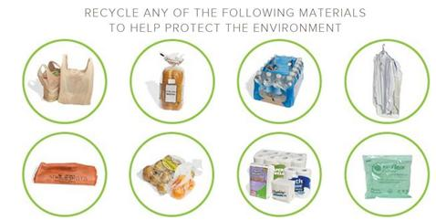Plastic items for recycling