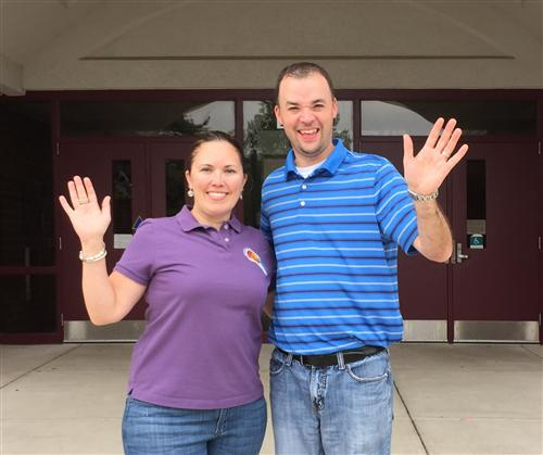 Have a great summer from Mrs. Ewing and Mr. Painter