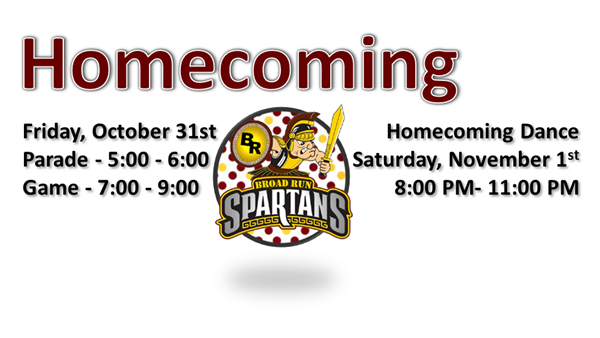 Homecoming Info