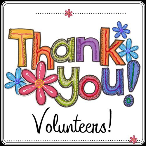 Thank You Volunteers
