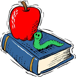 Book & Apple