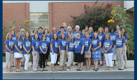 Picture of 2016 Lucketts Elementary School faculty