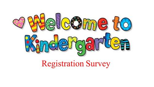 Kindergarten Orientation Survey