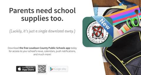 Download the free LCPS app